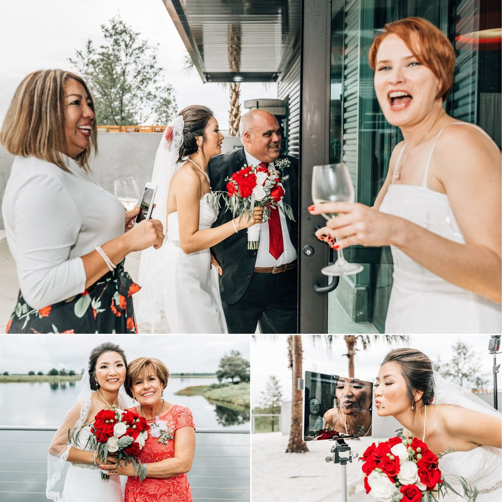 Lakehouse Lake Nona Wedding- Modern Colorful Red Multicultural- Susan + Manolo 44.jpg