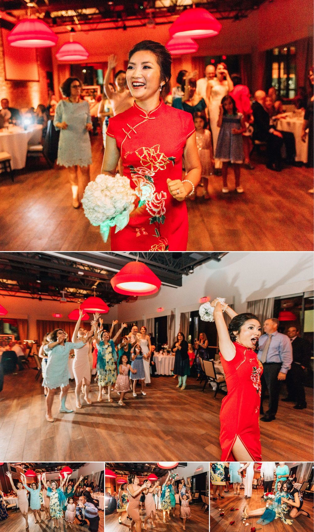 Lakehouse Lake Nona Wedding- Modern Colorful Red Multicultural- Susan + Manolo 48.jpg