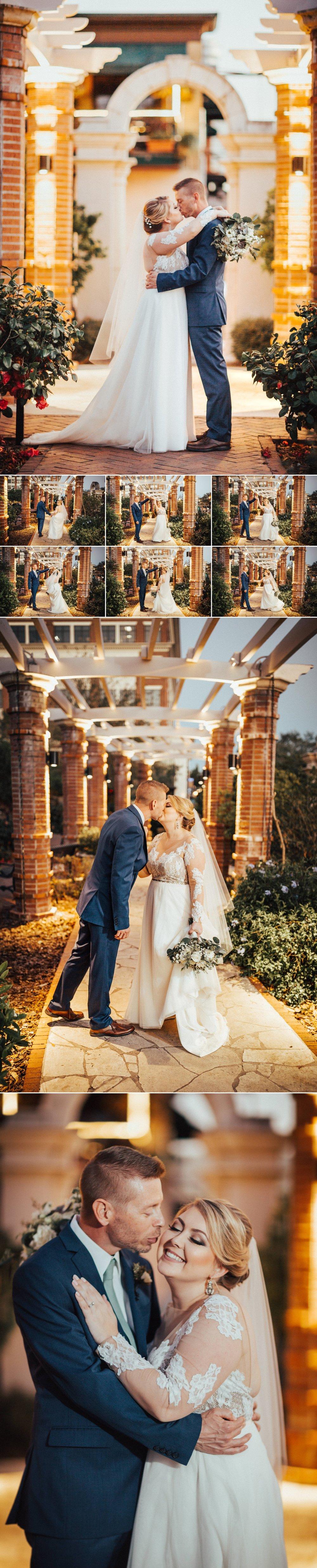 Winter Park Wedding Photography Rose Garden Bride & Groom Photos