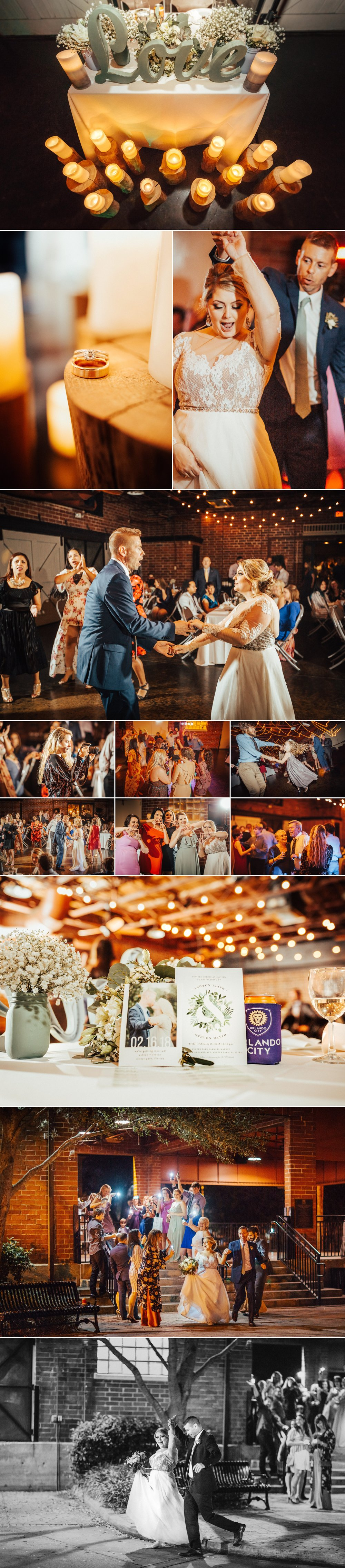 Greenery & French Blue Rustic Chic Elegant Wedding Reception by Over the Moon Orlando at the Winter Park Farmer's Market | Photographer Shaina DeCiryan Lifestyle + Wedding Photography @shainadeciryan