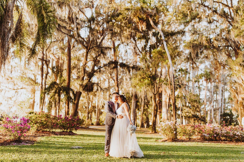 Secret garden elopement at Leu Gardens — Shaina DeCiryan Photography