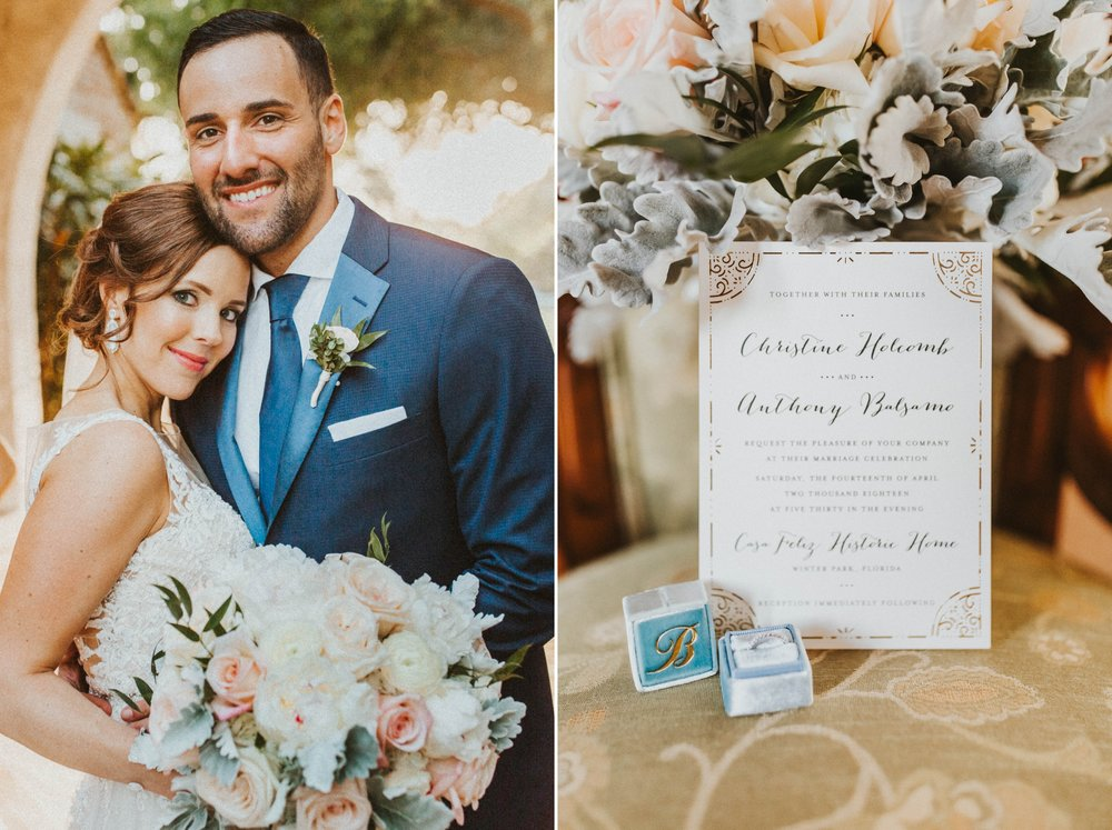 Casa Feliz Wedding photography - Romantic Blush Gold Spring Florals - Orlando Photographer Shaina DeCiryan 13.jpg