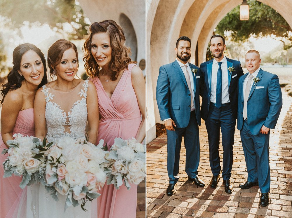 Casa Feliz Wedding photography - Romantic Blush Gold Spring Florals - Orlando Photographer Shaina DeCiryan 15.jpg
