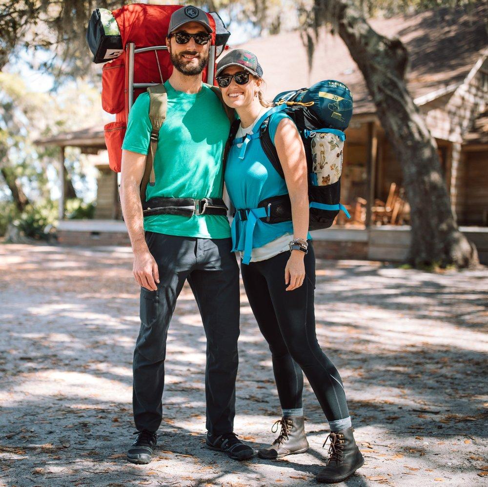 Cumberland Island adventure backpacking surprise proposal of Joshua and Shaina- Sofia Kaman Huckberry REI Prana national parks wedding- April 30 20191.jpg