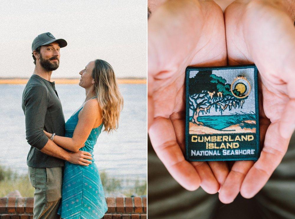 Cumberland Island adventure backpacking surprise proposal of Joshua and Shaina- Sofia Kaman Huckberry REI Prana national parks wedding- April 30 201919.jpg