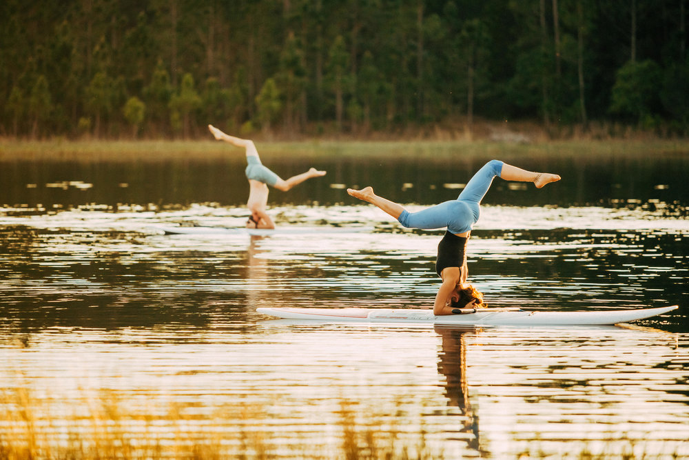 7. Sunset SUP yoga Pond- Deep Woods Yoga Retreat - Deland yoga community -122.jpg