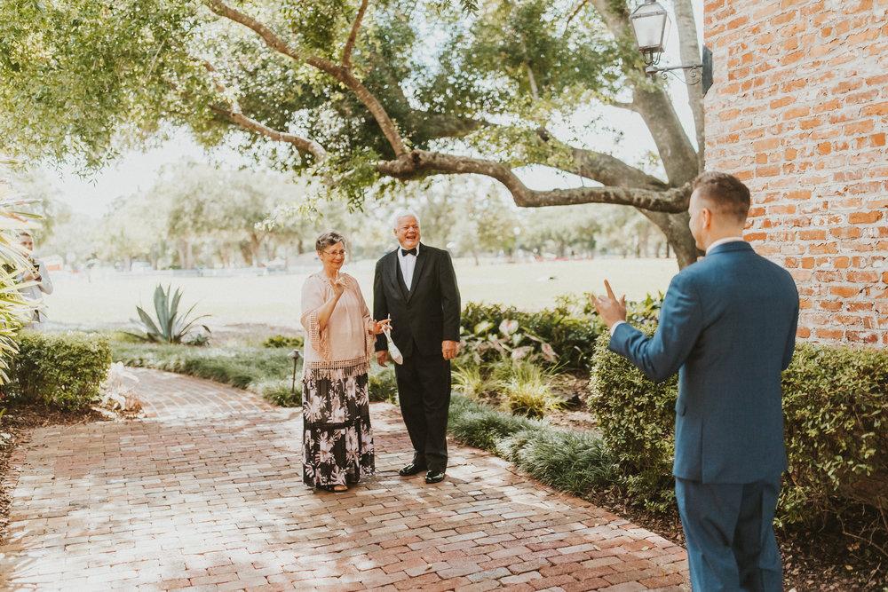 3. First Look- Navy & Copper Casa Feliz Wedding of Gabe & Chad -5.jpg