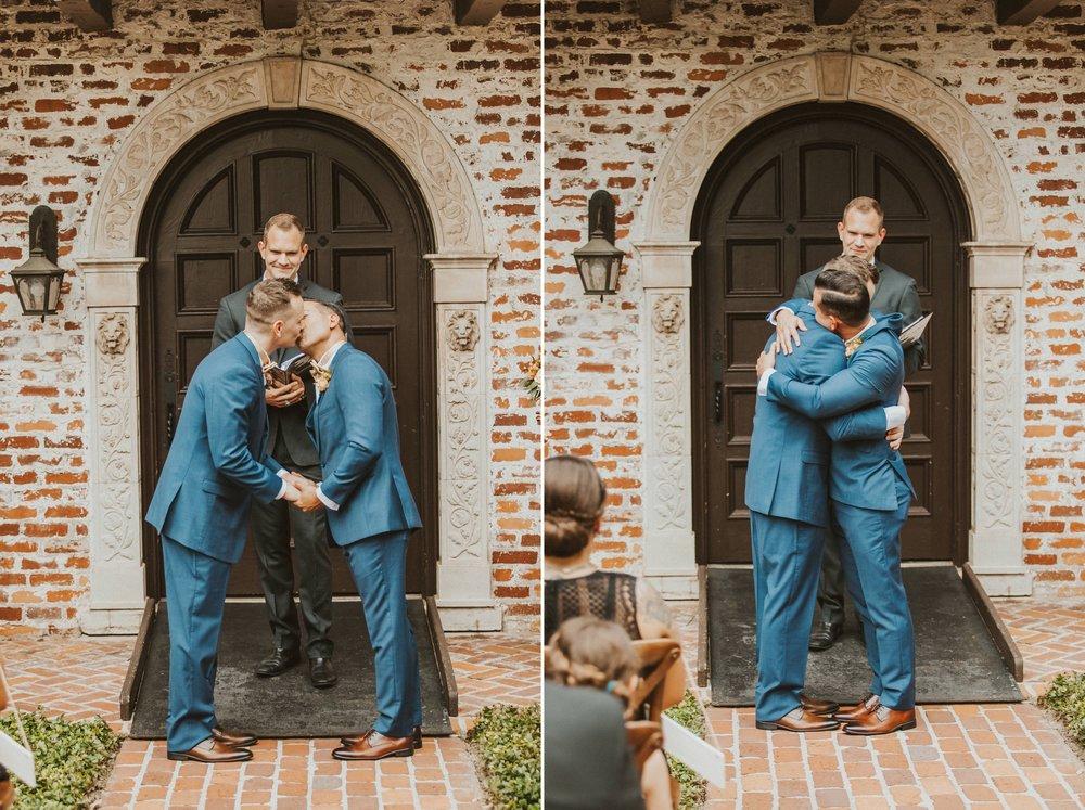 Navy & Copper Casa Feliz Wedding- Travel Inspired LGBT Groom + Groom Wedding- via ShainaDeCiryan.com18.jpg