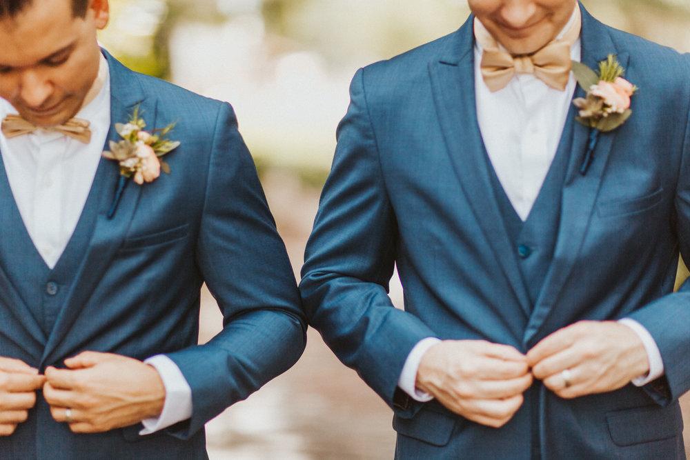 4. Groom Couples Portraits- Navy & Copper Casa Feliz Wedding of Gabe & Chad -22.jpg
