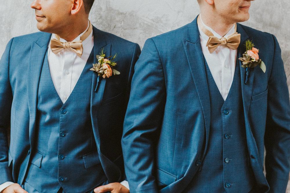 4. Groom Couples Portraits- Navy & Copper Casa Feliz Wedding of Gabe & Chad -102.jpg