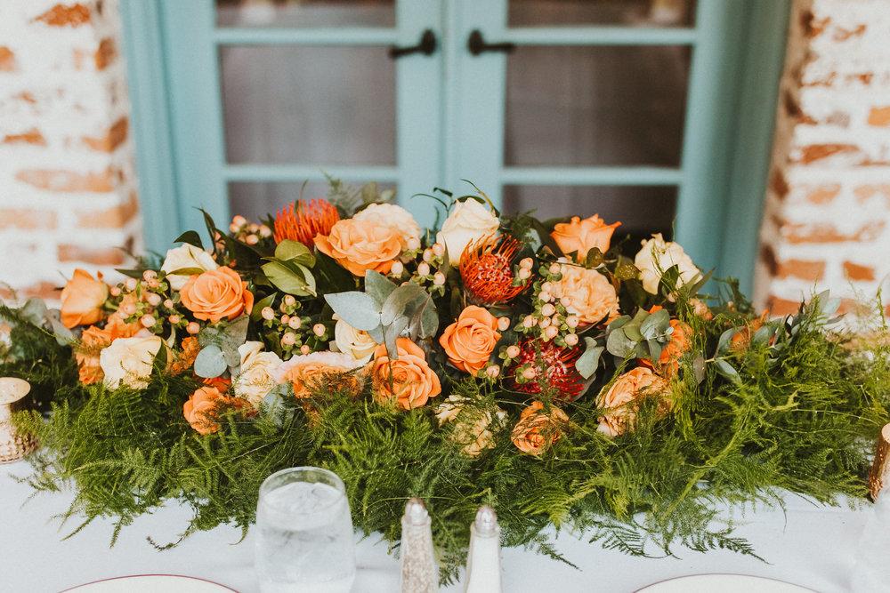 8. Reception Dinner- Navy & Copper Casa Feliz Wedding of Gabe & Chad -7.jpg