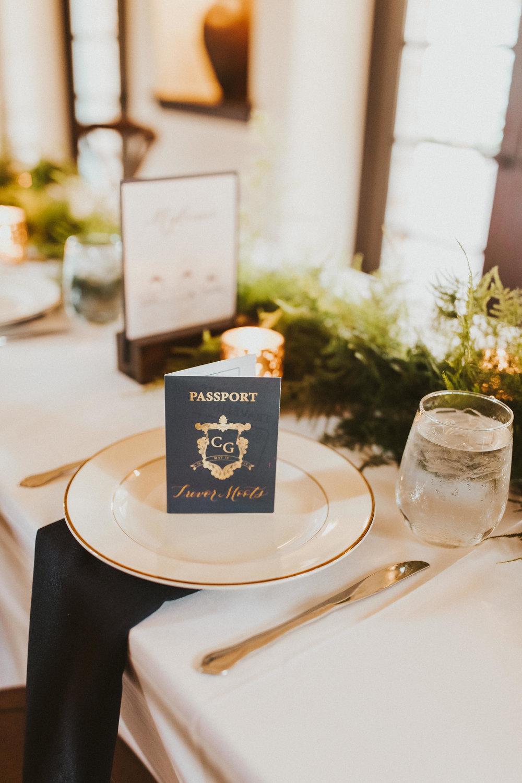 8. Reception Dinner- Navy & Copper Casa Feliz Wedding of Gabe & Chad -39.jpg