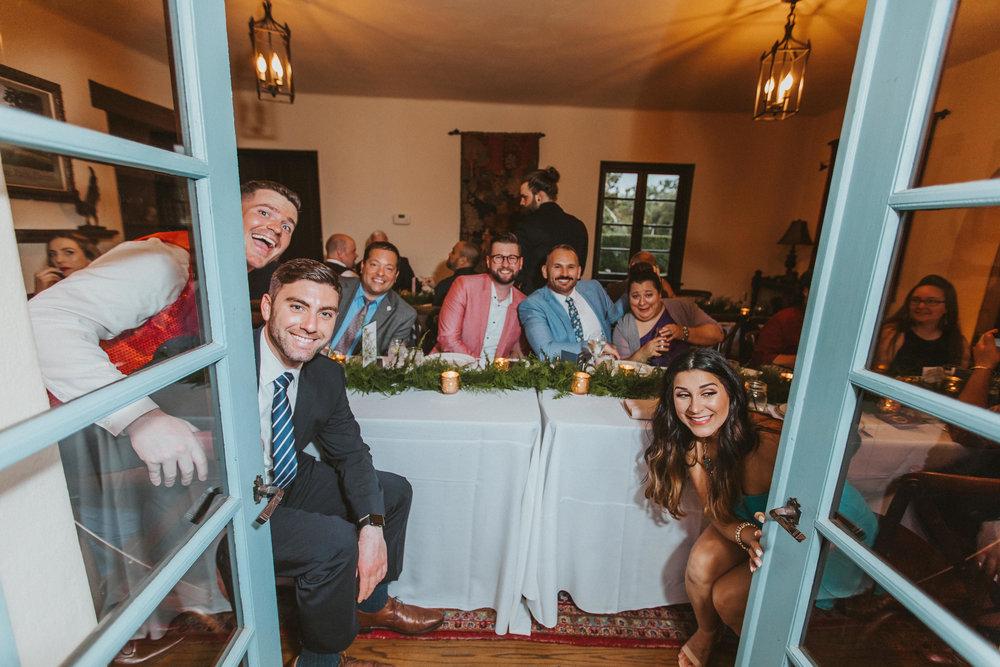 8. Reception Dinner- Navy & Copper Casa Feliz Wedding of Gabe & Chad -82.jpg