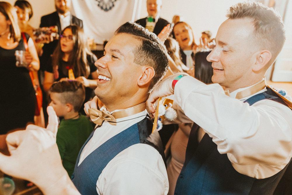 10. Dance Party- Navy & Copper Casa Feliz Wedding of Gabe & Chad -154.jpg