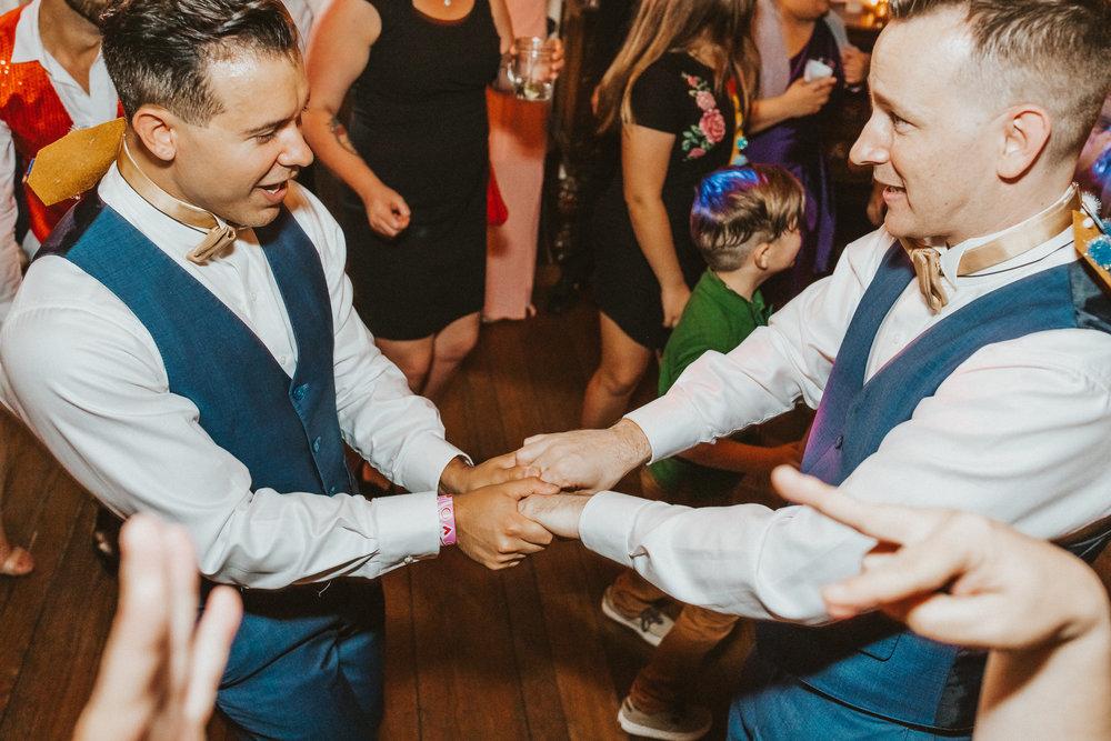 10. Dance Party- Navy & Copper Casa Feliz Wedding of Gabe & Chad -162.jpg
