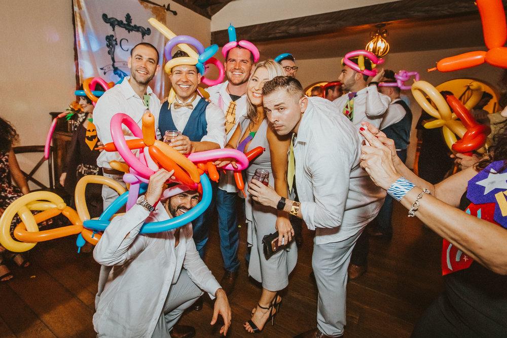 10. Dance Party- Navy & Copper Casa Feliz Wedding of Gabe & Chad -267.jpg