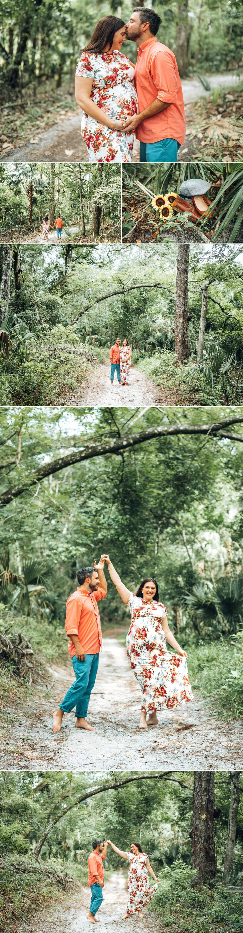 Boho Florida Maternity Photo Session- Kelly Springs State Park-Meghan+Michael5.jpg