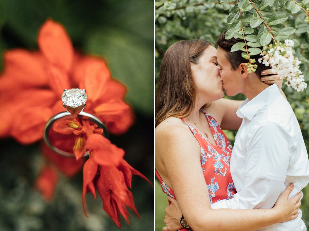 Orlando Natural Forest State Park Engagement Photos- Romantic LGBT Engaged Couples photos3.jpg