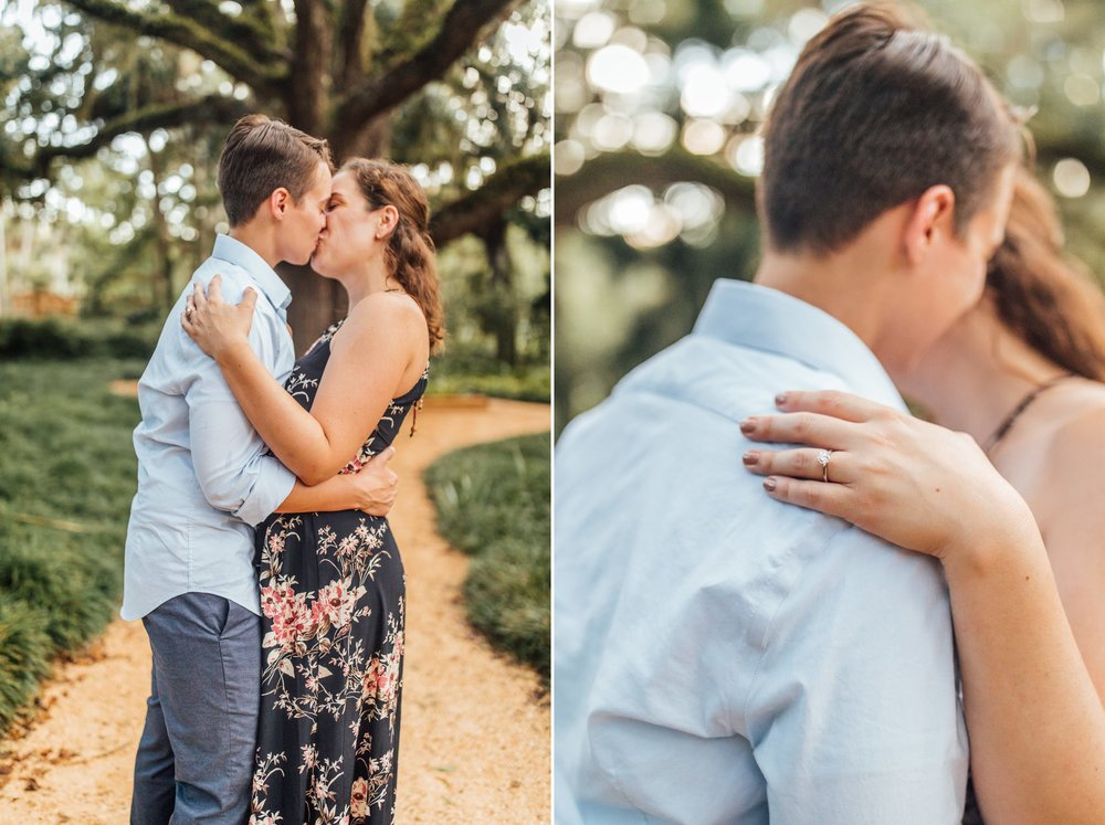 Orlando Natural Forest State Park Engagement Photos- Romantic LGBT Engaged Couples photos12.jpg