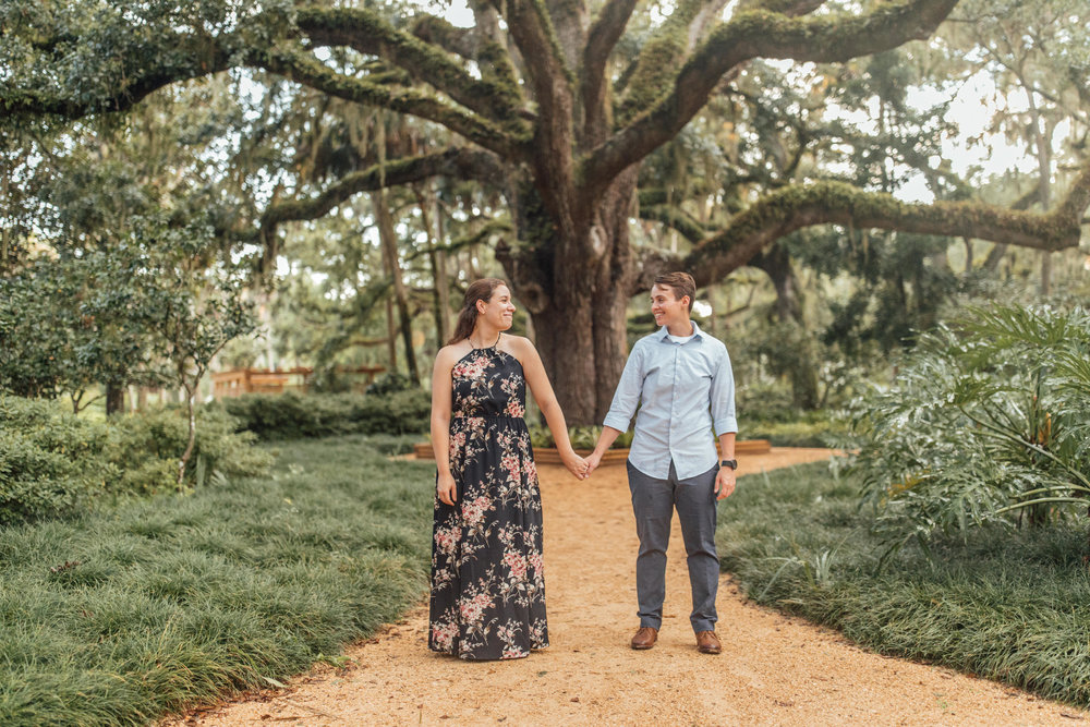 Orlando Natural Forest State Park Engagement Photos- Romantic LGBT Engaged Couples photos91.jpg