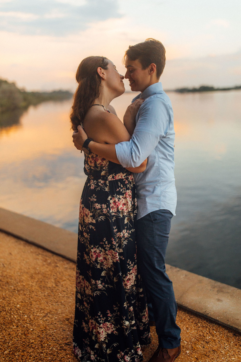 Orlando Natural Forest State Park Engagement Photos- Romantic LGBT Engaged Couples photos139.jpg