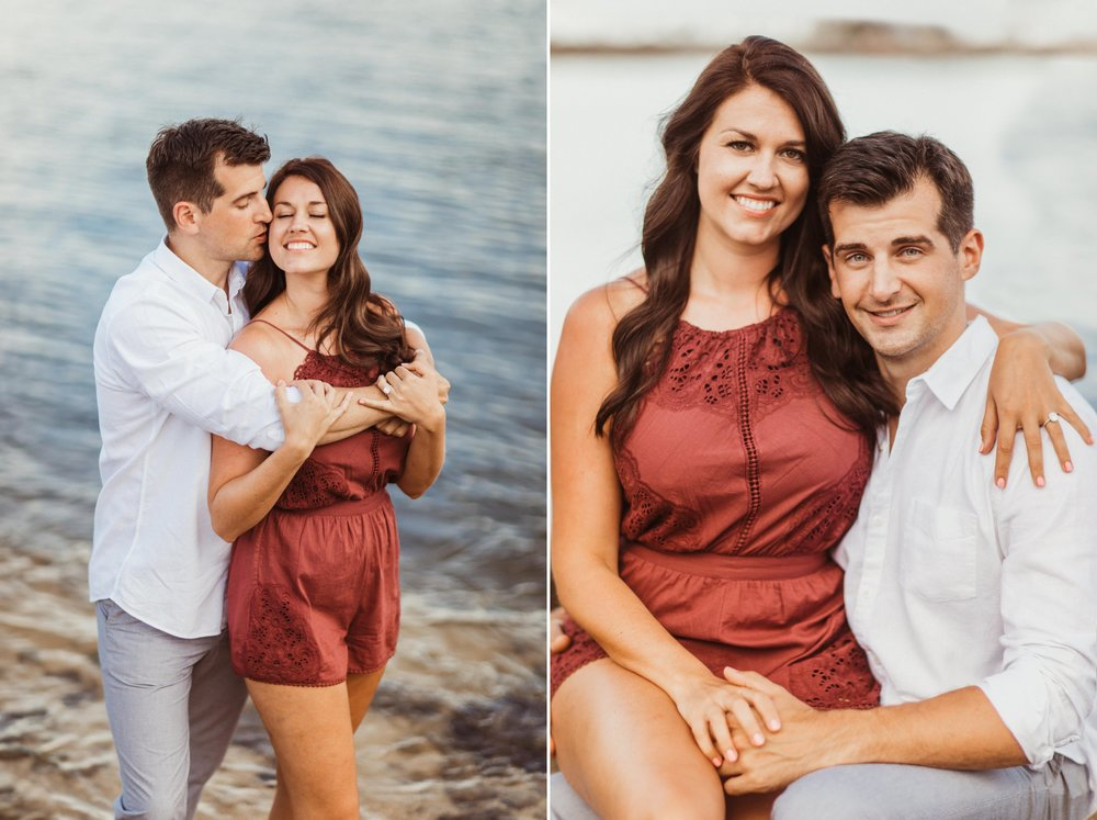 Sebastian Inlet Romantic Boho Engagement Photo Session- Blue Indigo Skirt1.jpg