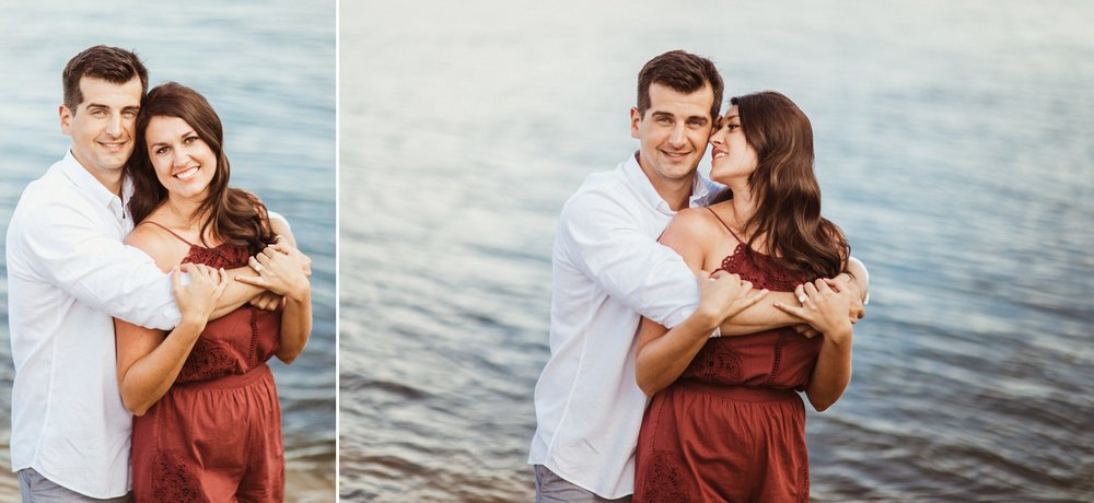 Sebastian Inlet Romantic Boho Engagement Photo Session- Blue Indigo Skirt2.jpg