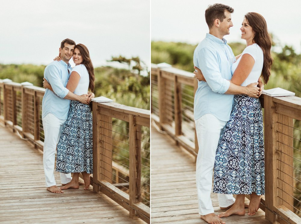 Sebastian Inlet Romantic Boho Engagement Photo Session- Blue Indigo Skirt11.jpg