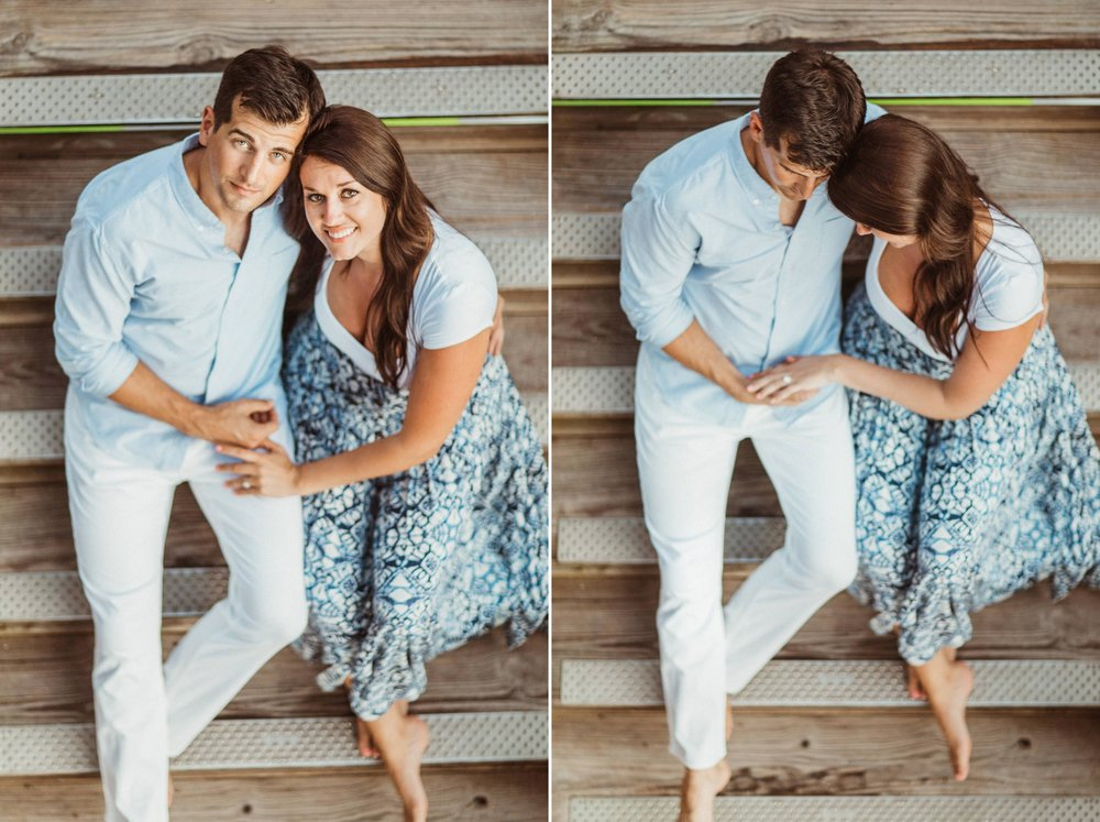 Sebastian Inlet Romantic Boho Engagement Photo Session- Blue Indigo Skirt12.jpg