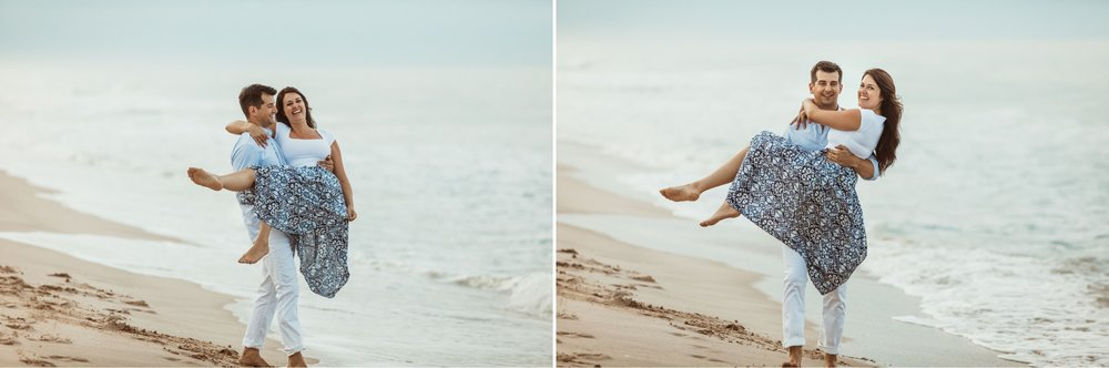 Sebastian Inlet Romantic Boho Engagement Photo Session- Blue Indigo Skirt4.jpg
