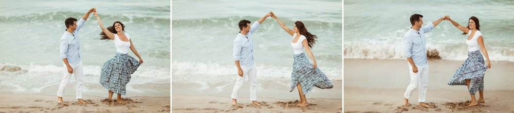 Sebastian Inlet Romantic Boho Engagement Photo Session- Blue Indigo Skirt13.jpg