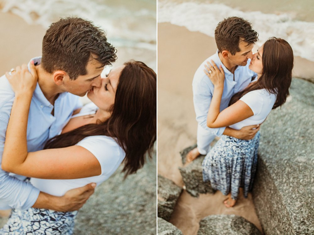 Sebastian Inlet Romantic Boho Engagement Photo Session- Blue Indigo Skirt8.jpg