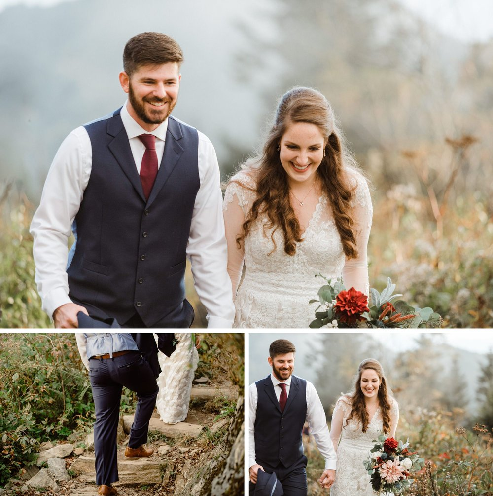 Great Smoky Mountain National Park Elopement- Cole + Rachel- Photographer Shaina DeCiryan-11.20185.jpg