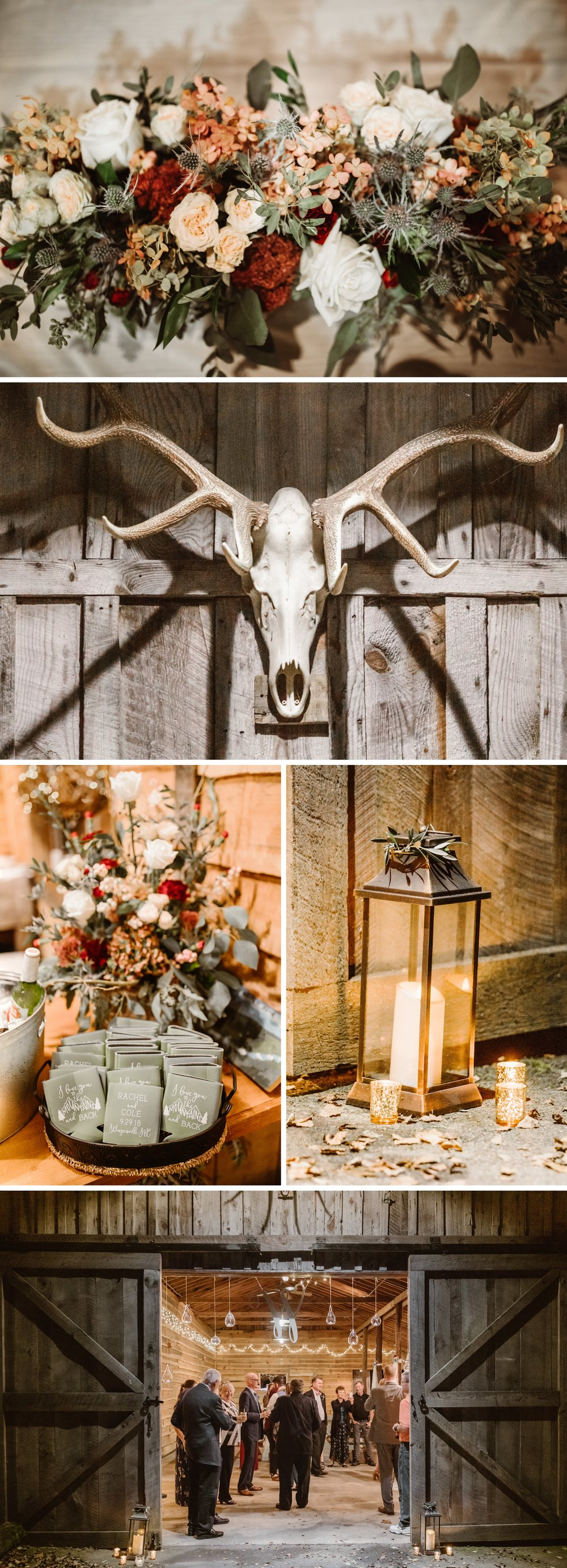 Asheville Mountain Barn Elopement Reception- Cole + Rachel- Shaina DeCiryan Photography1.jpg