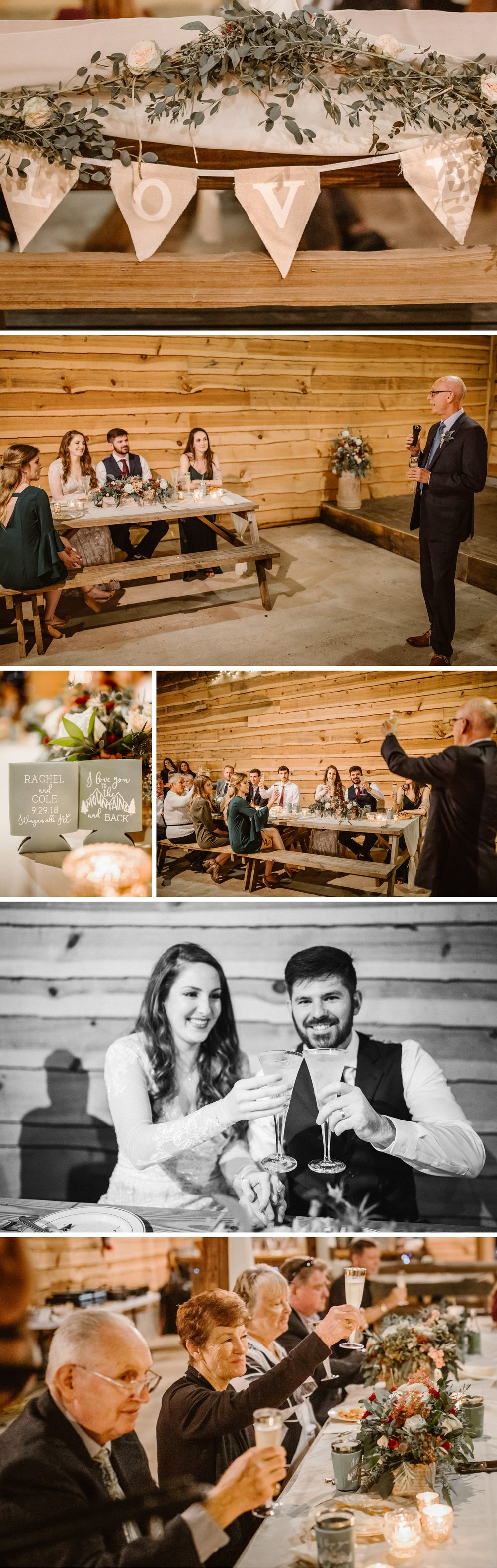Asheville Mountain Barn Elopement Reception- Cole + Rachel- Shaina DeCiryan Photography6.jpg