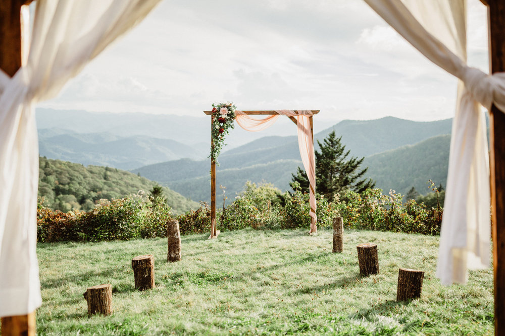 3. Elopement Ceremony- Cole + Rachel's Great Smoky Mountain National Park Elopement-6.jpg