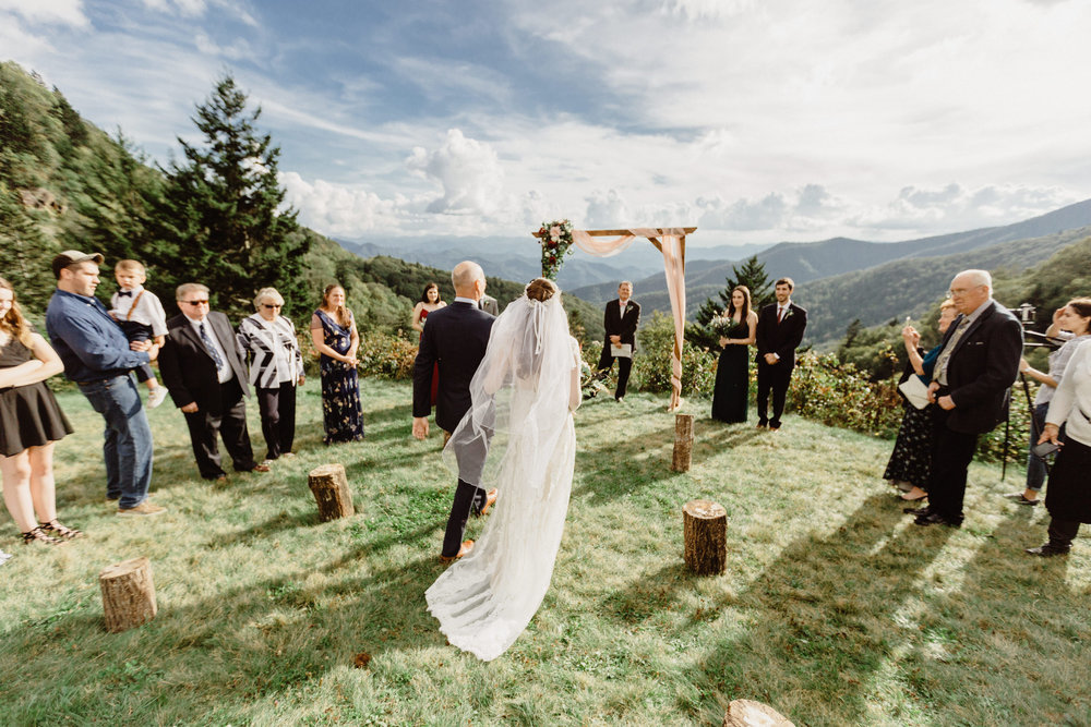3. Elopement Ceremony- Cole + Rachel's Great Smoky Mountain National Park Elopement-50.jpg