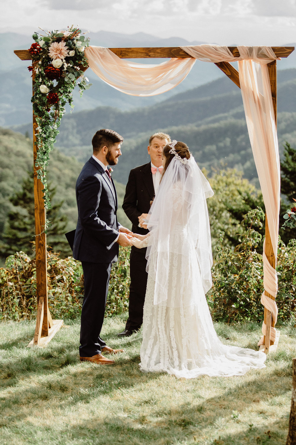 3. Elopement Ceremony- Cole + Rachel's Great Smoky Mountain National Park Elopement-62.jpg