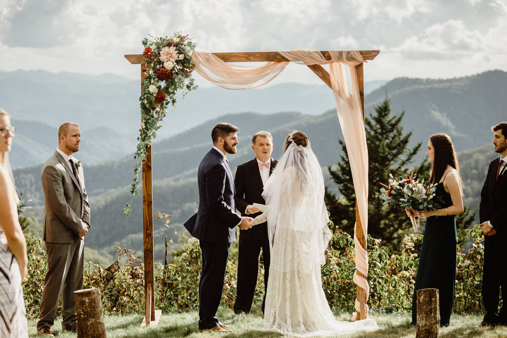 3. Elopement Ceremony- Cole + Rachel's Great Smoky Mountain National Park Elopement-81.jpg