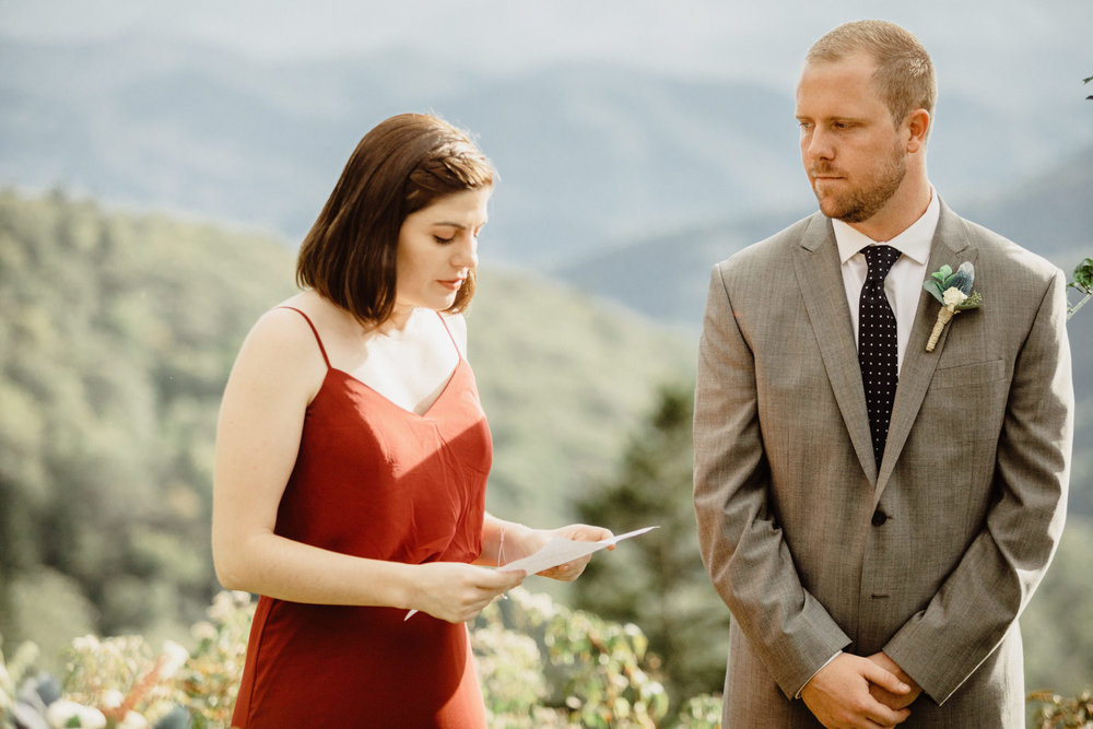 3. Elopement Ceremony- Cole + Rachel's Great Smoky Mountain National Park Elopement-102.jpg