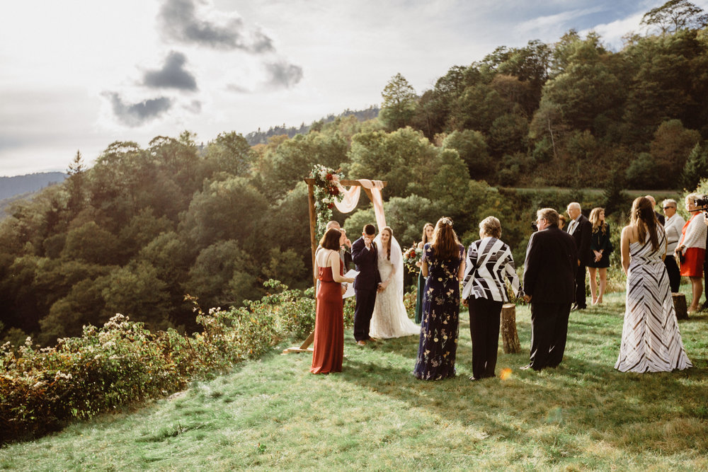 3. Elopement Ceremony- Cole + Rachel's Great Smoky Mountain National Park Elopement-110.jpg