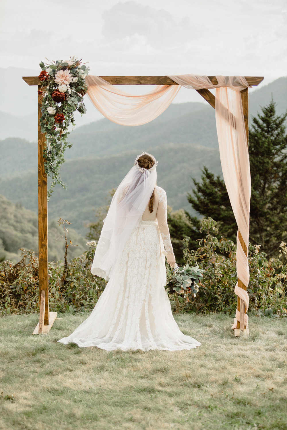 5. Mountain Bride & Groom Portraits- Cole + Rachel's Great Smoky Mountain National Park Elopement-18.jpg