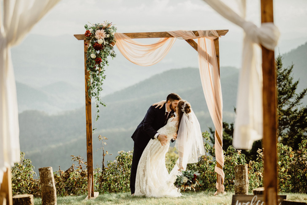 5. Mountain Bride & Groom Portraits- Cole + Rachel's Great Smoky Mountain National Park Elopement-44.jpg
