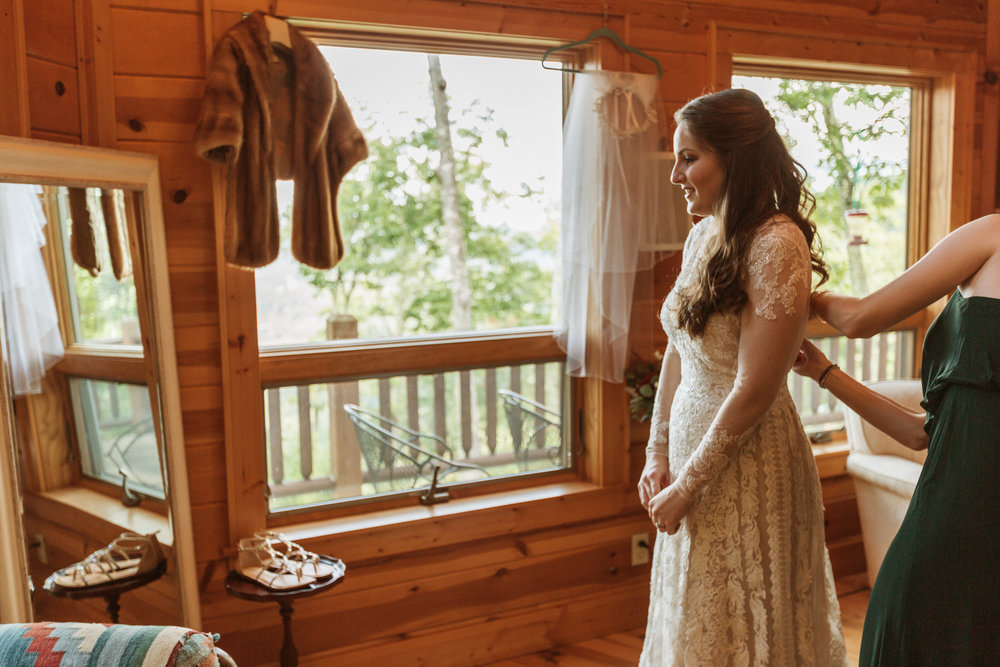 1. Bride's morning- Cole + Rachel's Great Smoky Mountain National Park Elopement-128.jpg