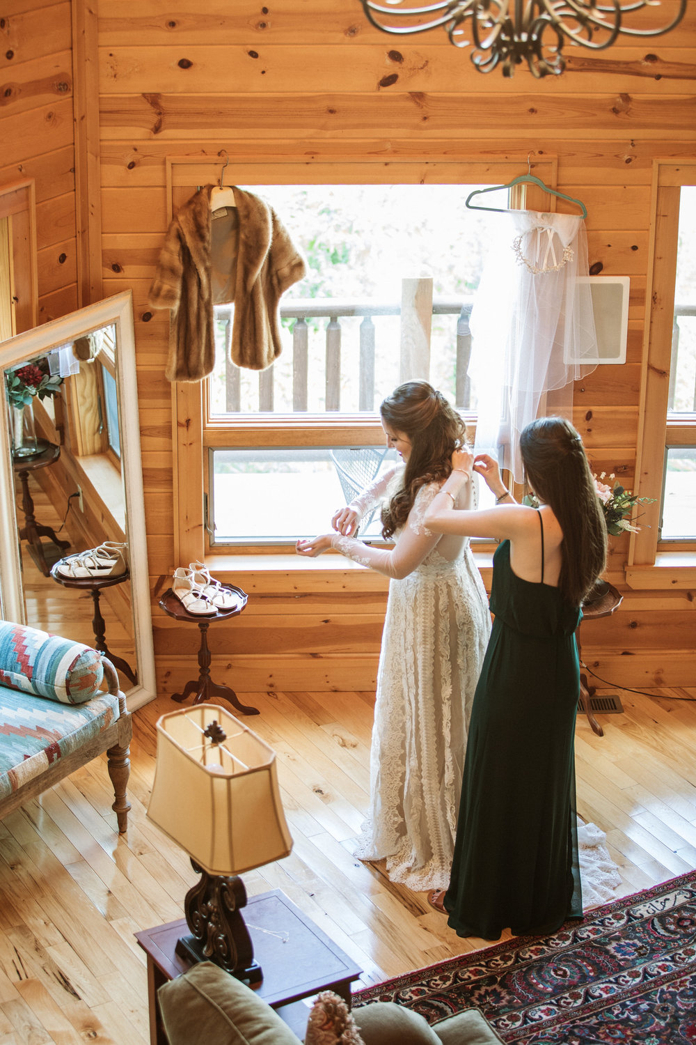 1. Bride's morning- Cole + Rachel's Great Smoky Mountain National Park Elopement-144.jpg