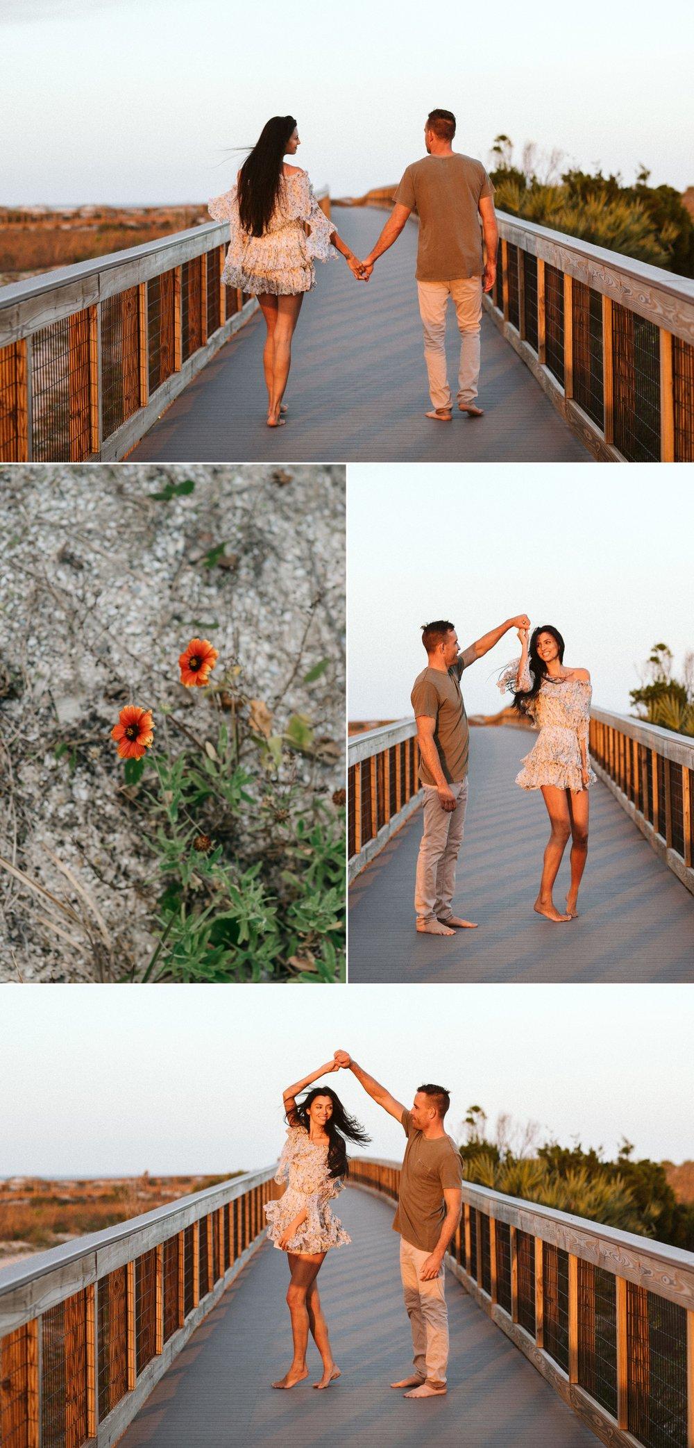Adventure Brushfire sunset beach engagement- Gabriella + Chad- Shaina DeCiryan photography11.jpg