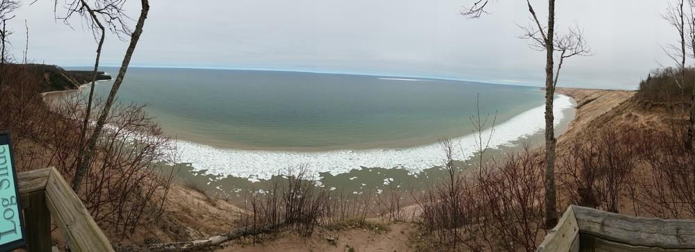 Frozen Lake Superior