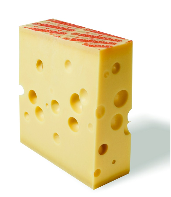 Bacteria make the holes in Swiss cheese