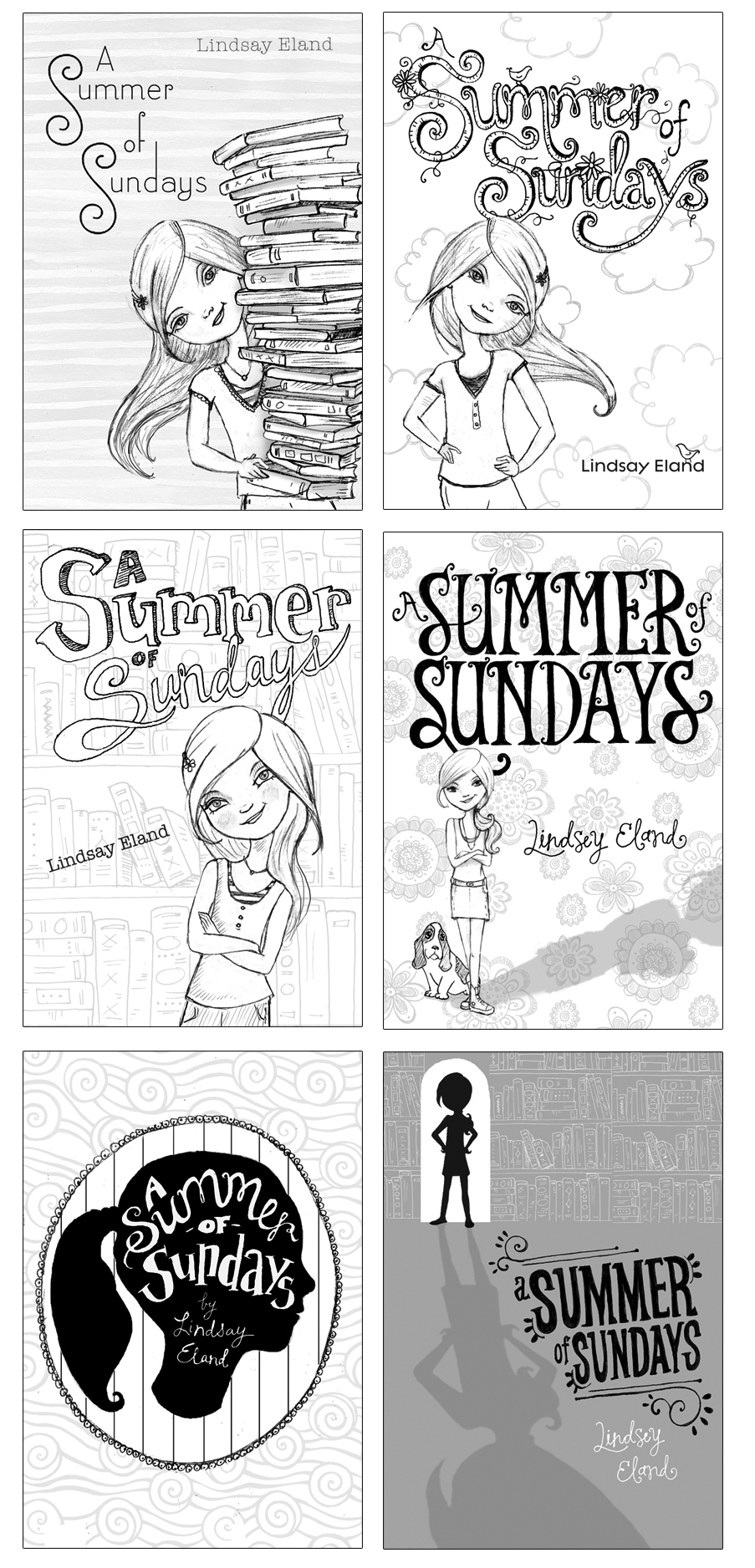 Summer of Sundays Sketches