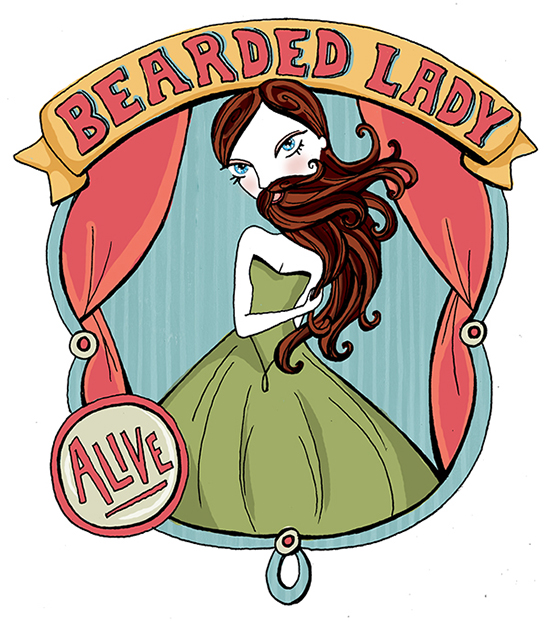 BeardedLady
